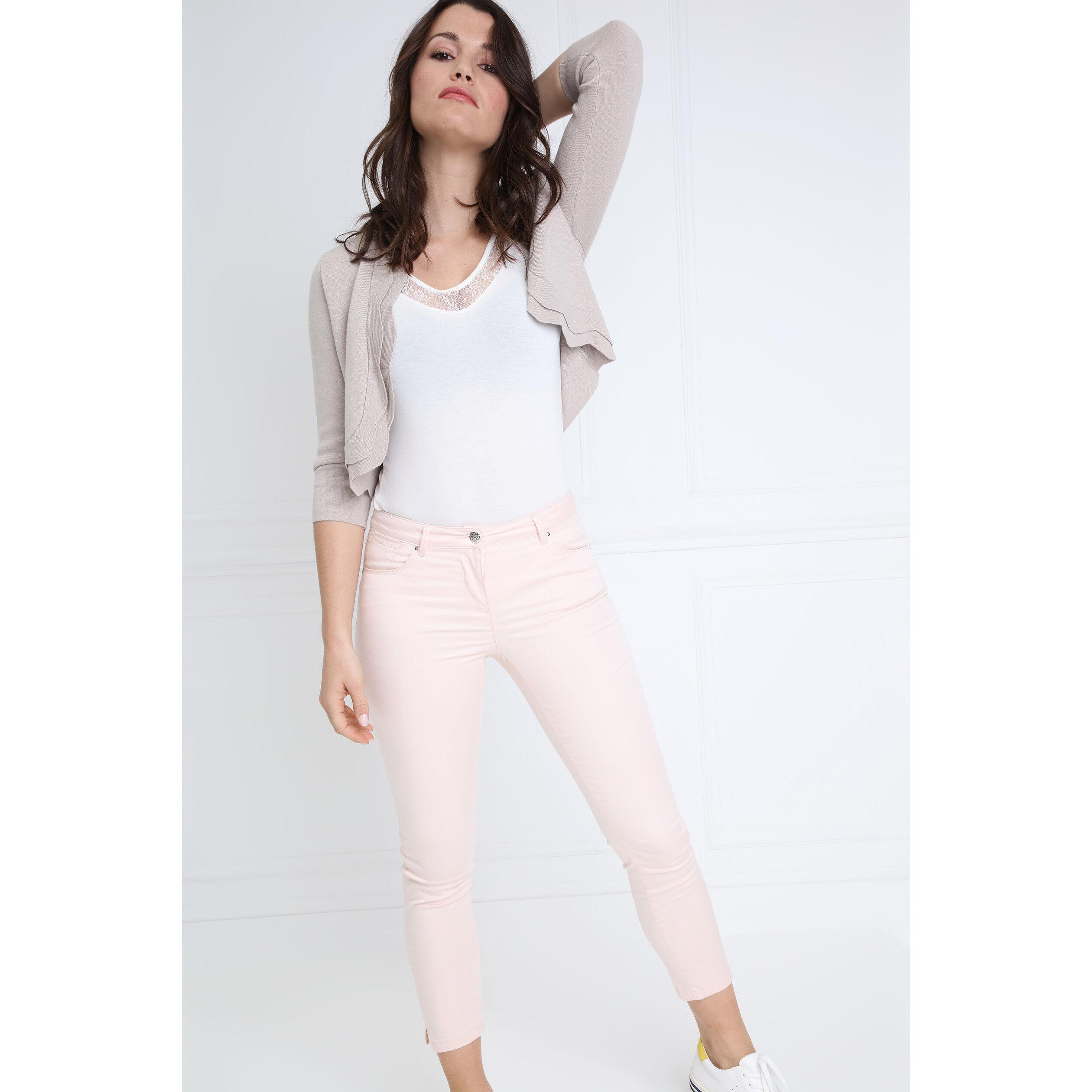 Basculée FemmeBréal Rose Clair 78 Pantalon Taille m80wNn