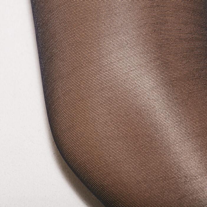 Collants effet ventre plat noir femme