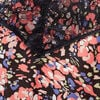 Caraco bretelles fines noir femme