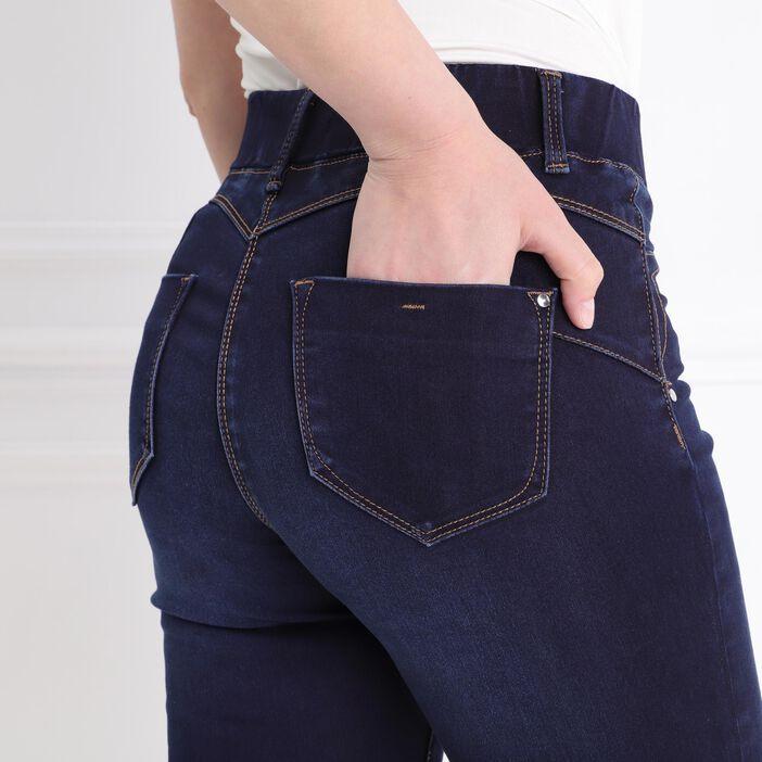 Jegging taille standard denim brut femme
