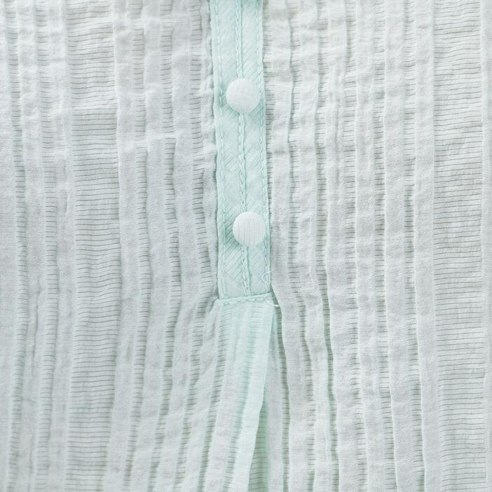 Blouse manches longues vert pastel femme