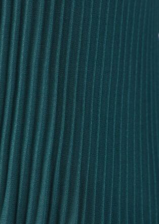 Debardeur bretelles larges vert canard femme