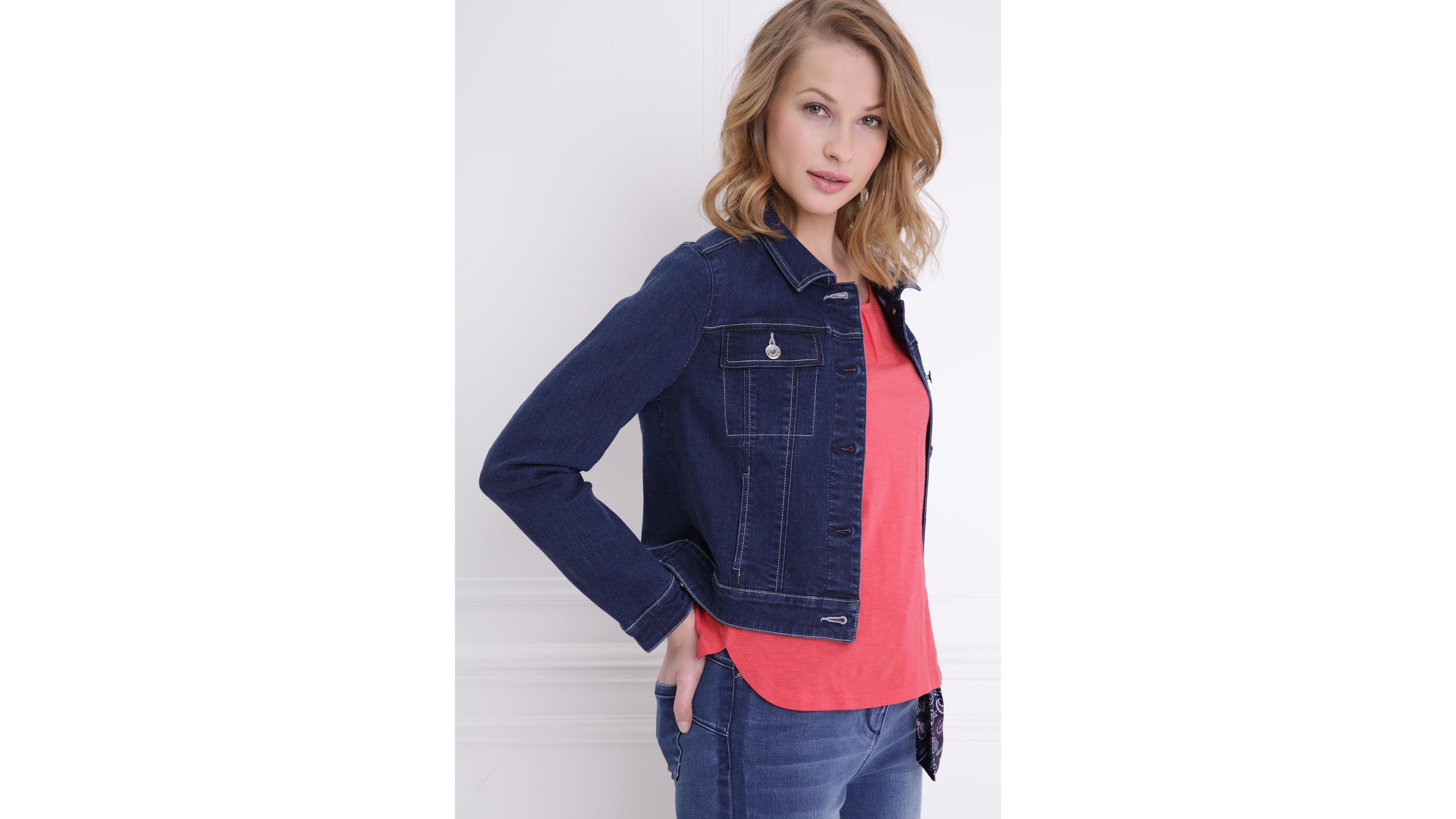 Veste en jean denim brut femme   Bréal