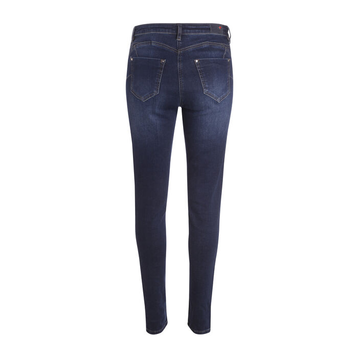Jeans slim taille standard denim stone femme