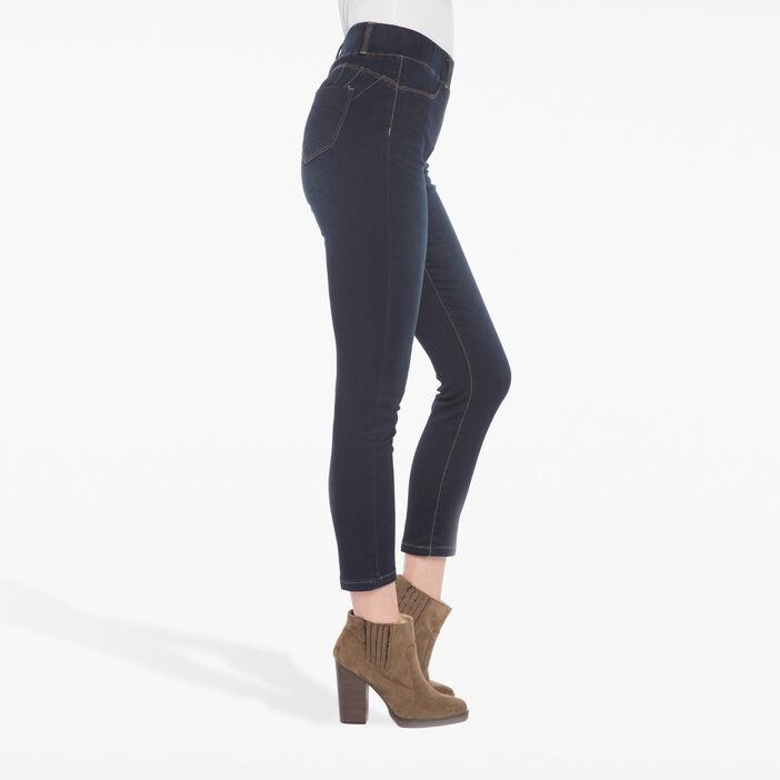 Tregging jeans ultra confort denim brut femme
