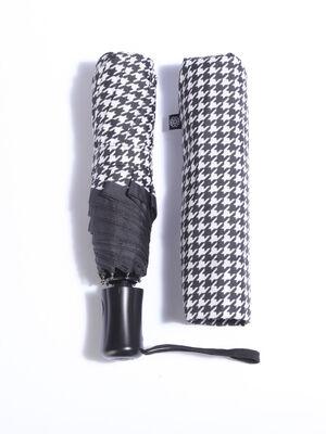 Parapluie moyen pliable noir femme