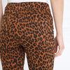 Pantalon ajuste taille standard marron clair femme