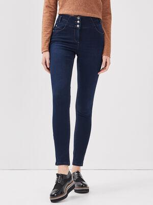Jeans pres du corps denim stone femme