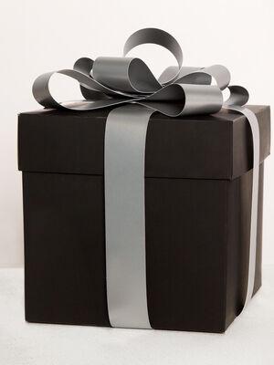 Tote bag cadeau noir