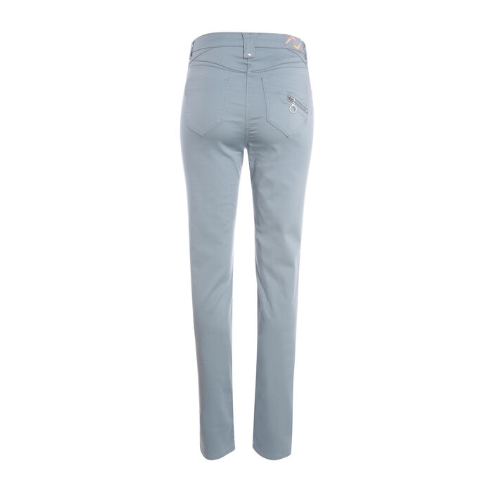 Pantalon taille standard vert foncé femme
