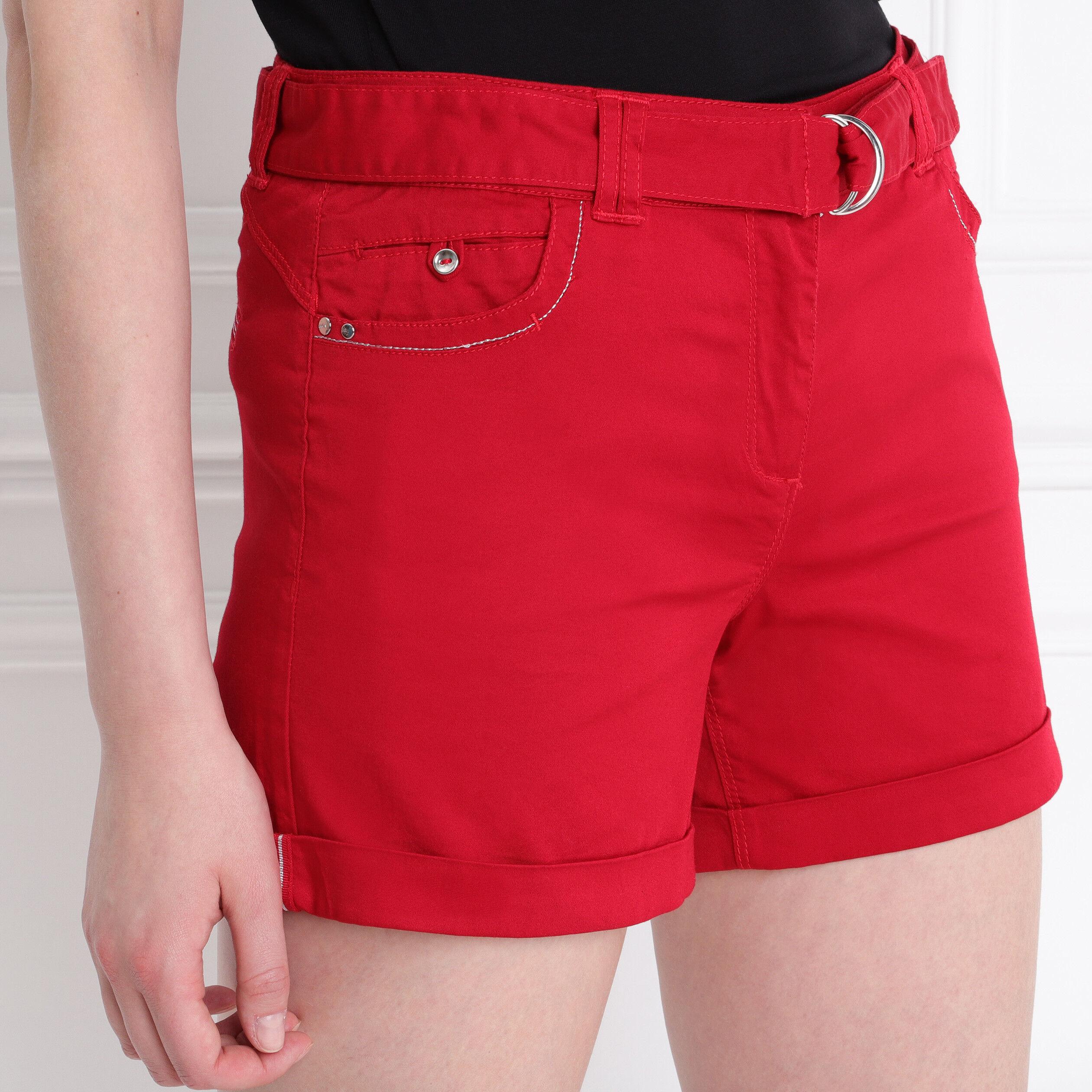 Rouge Droit Short FemmeBréal Taille Standard BoQrCxWde
