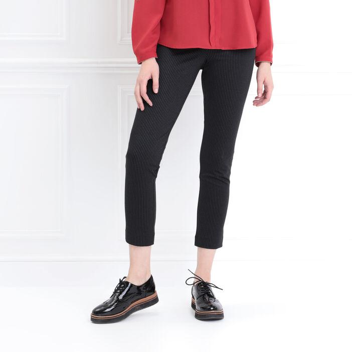 plus grand choix de code promo gamme de couleurs exceptionnelle Tregging taille basculée noir femme   Bréal