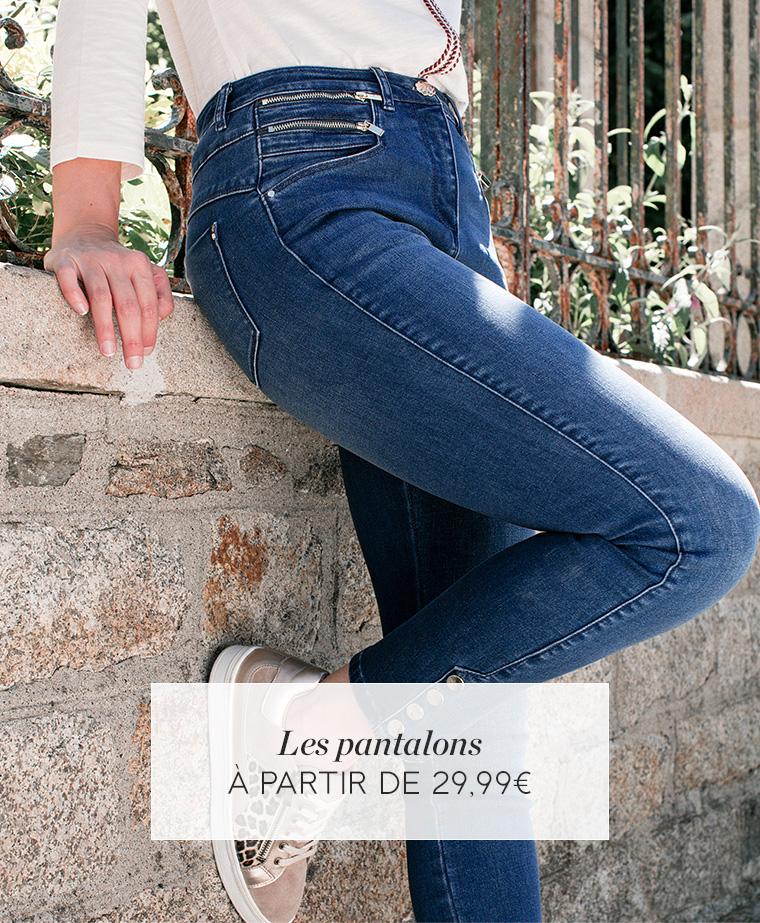 Les pantalons - à partir de 29€99