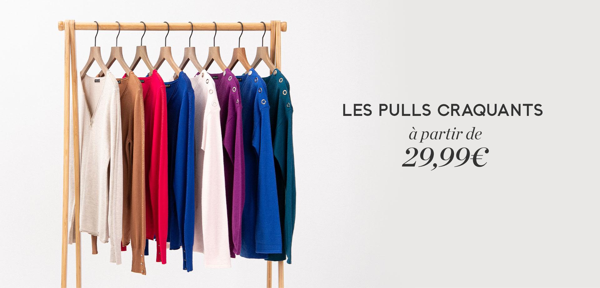 Les pulls craquants à partir de 29,99€