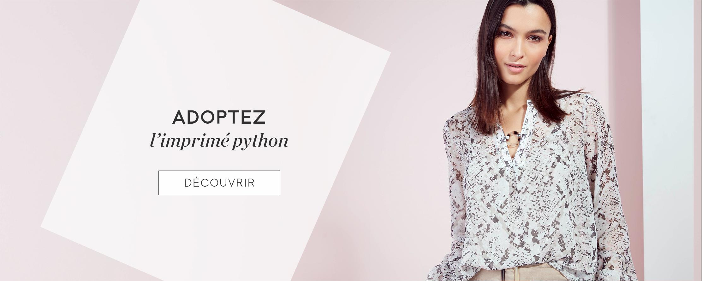 Adoptez l'imprimé python