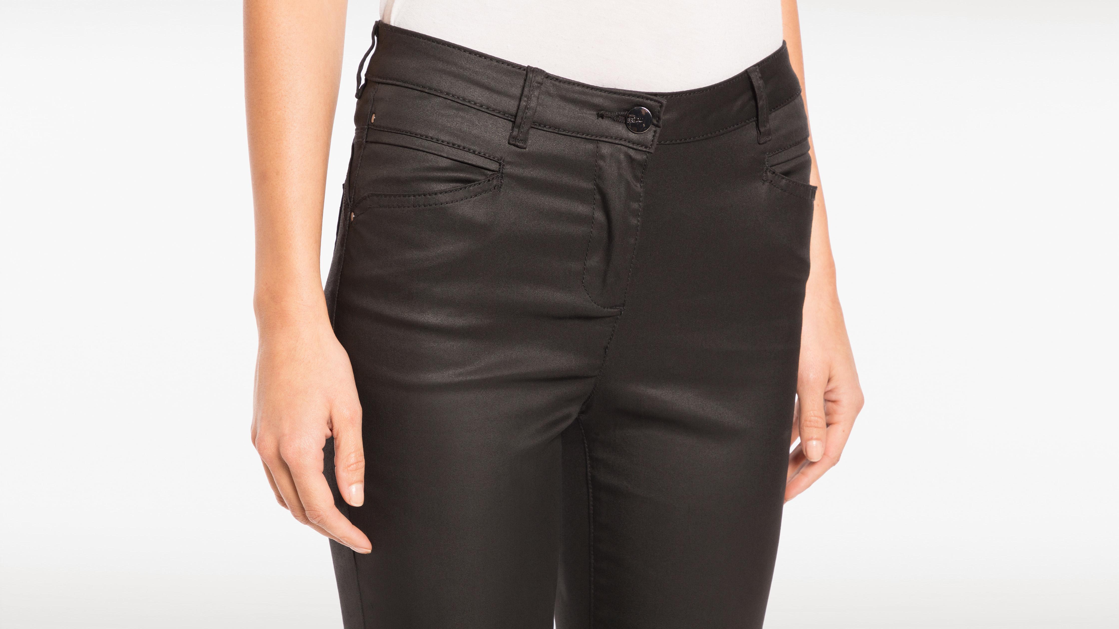 Enduit Pantalon Noir 78ème Femme ybvYf67g