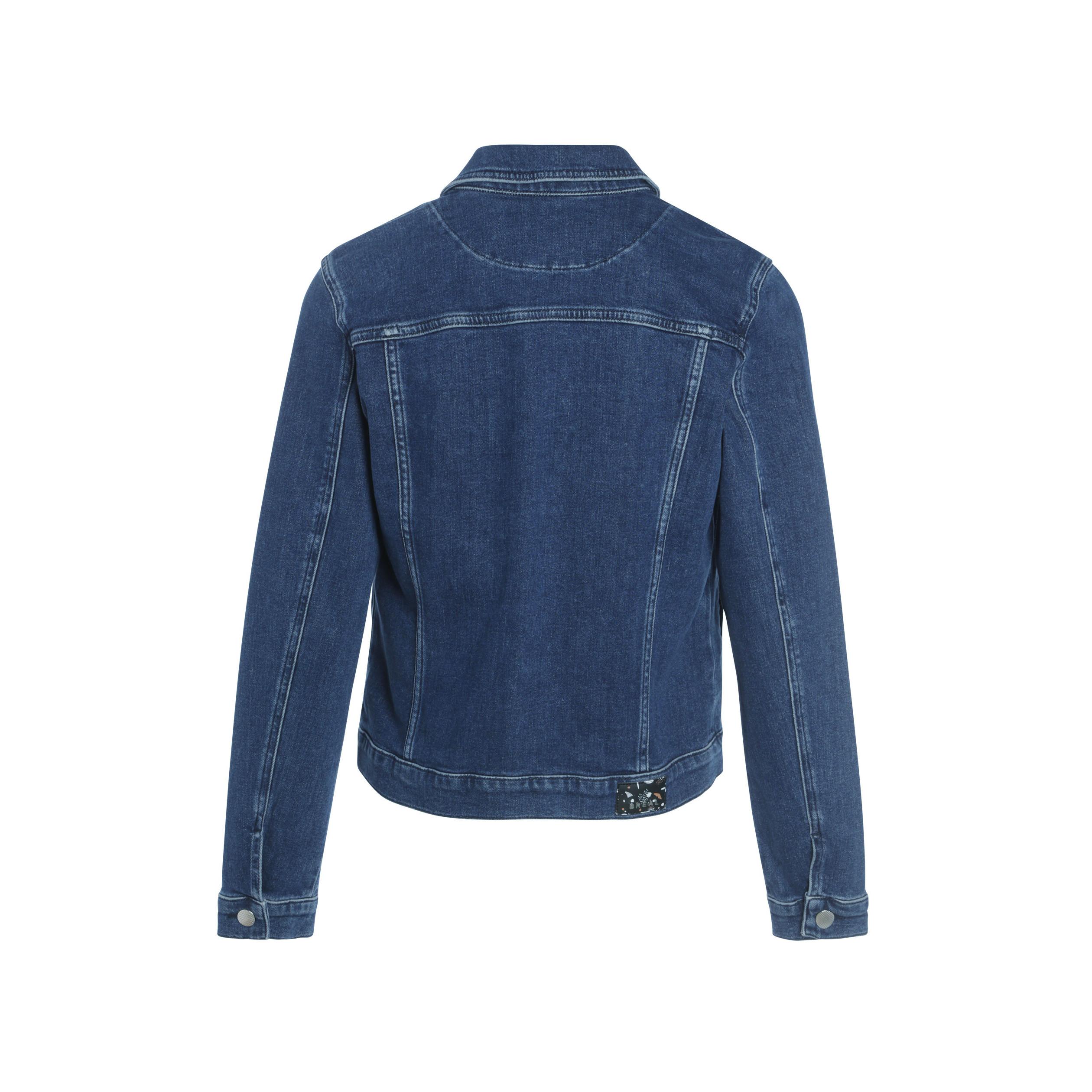 super mignon f5f09 f4cb7 Veste cintrée en jean 4 poches denim stone femme