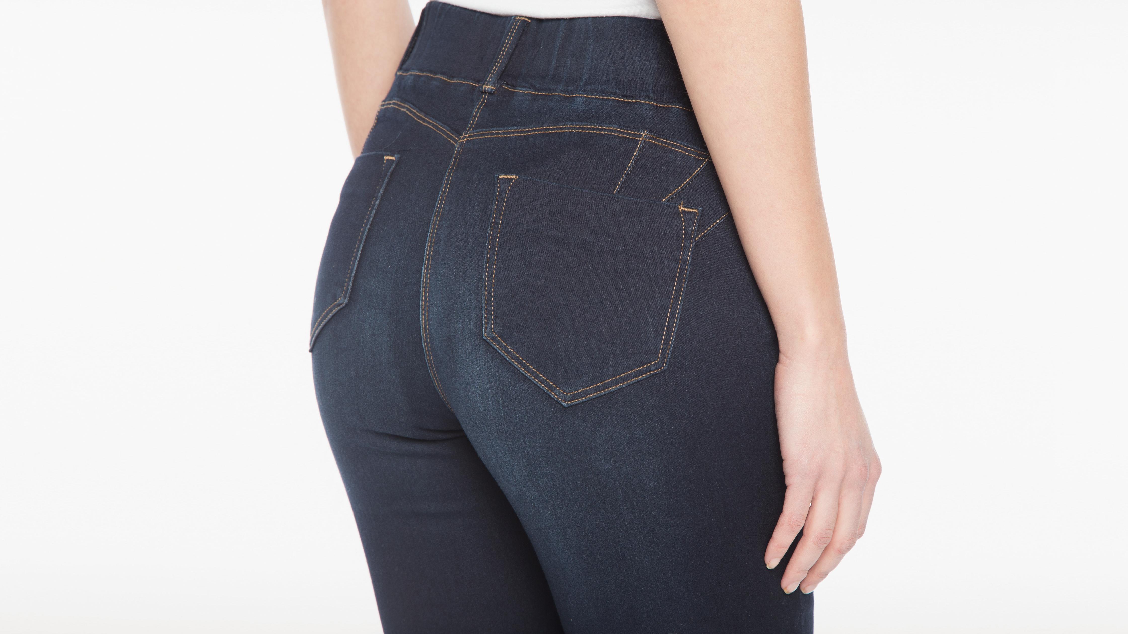 Ultra Femme Jeans Denim Tregging Brut Confort FKcTJl1