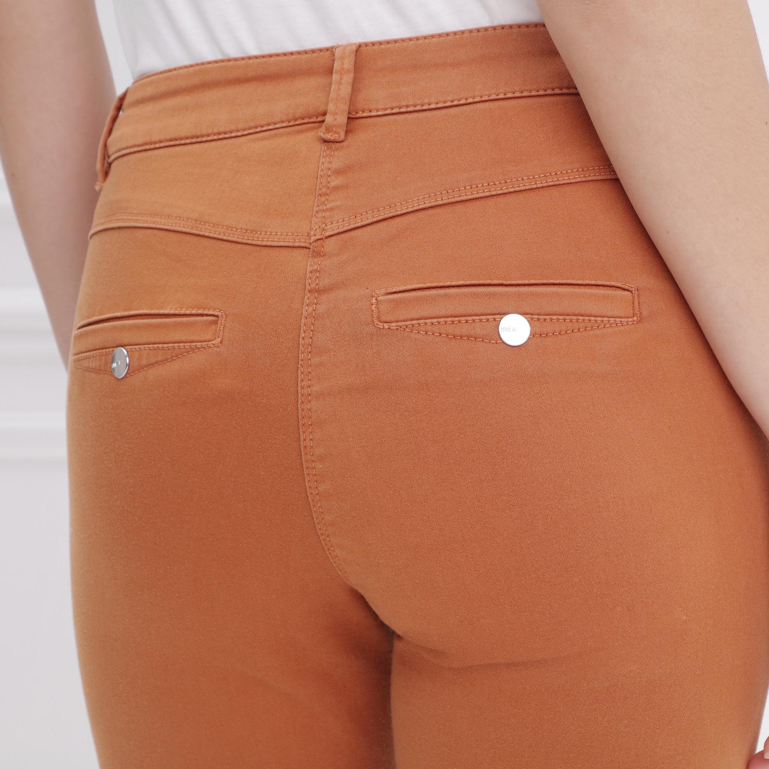 de para mujer camel Pantalones estándar cintura X0wOkP8n