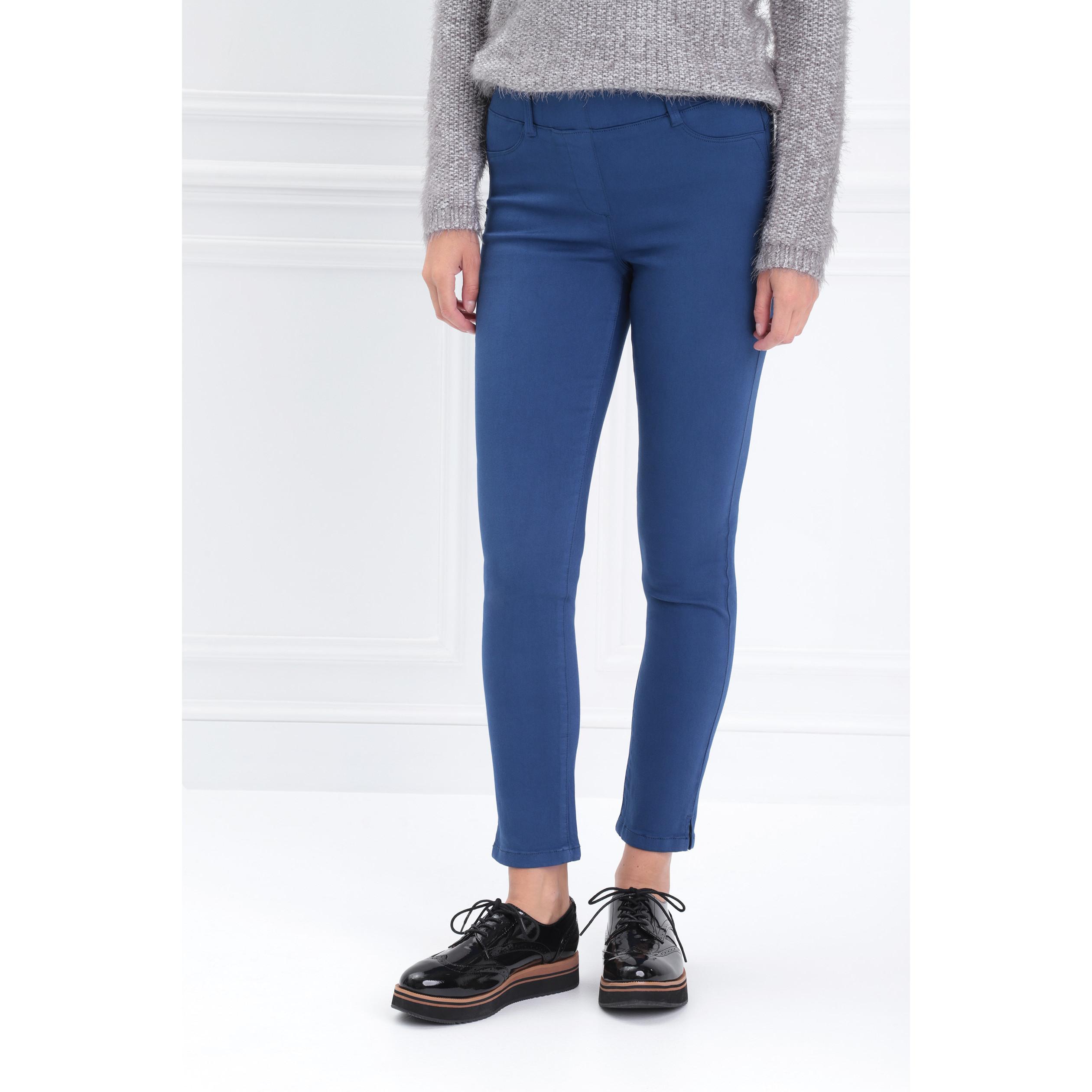 large sélection sélectionner pour le meilleur fabrication habile Tregging taille standard bleu roi femme