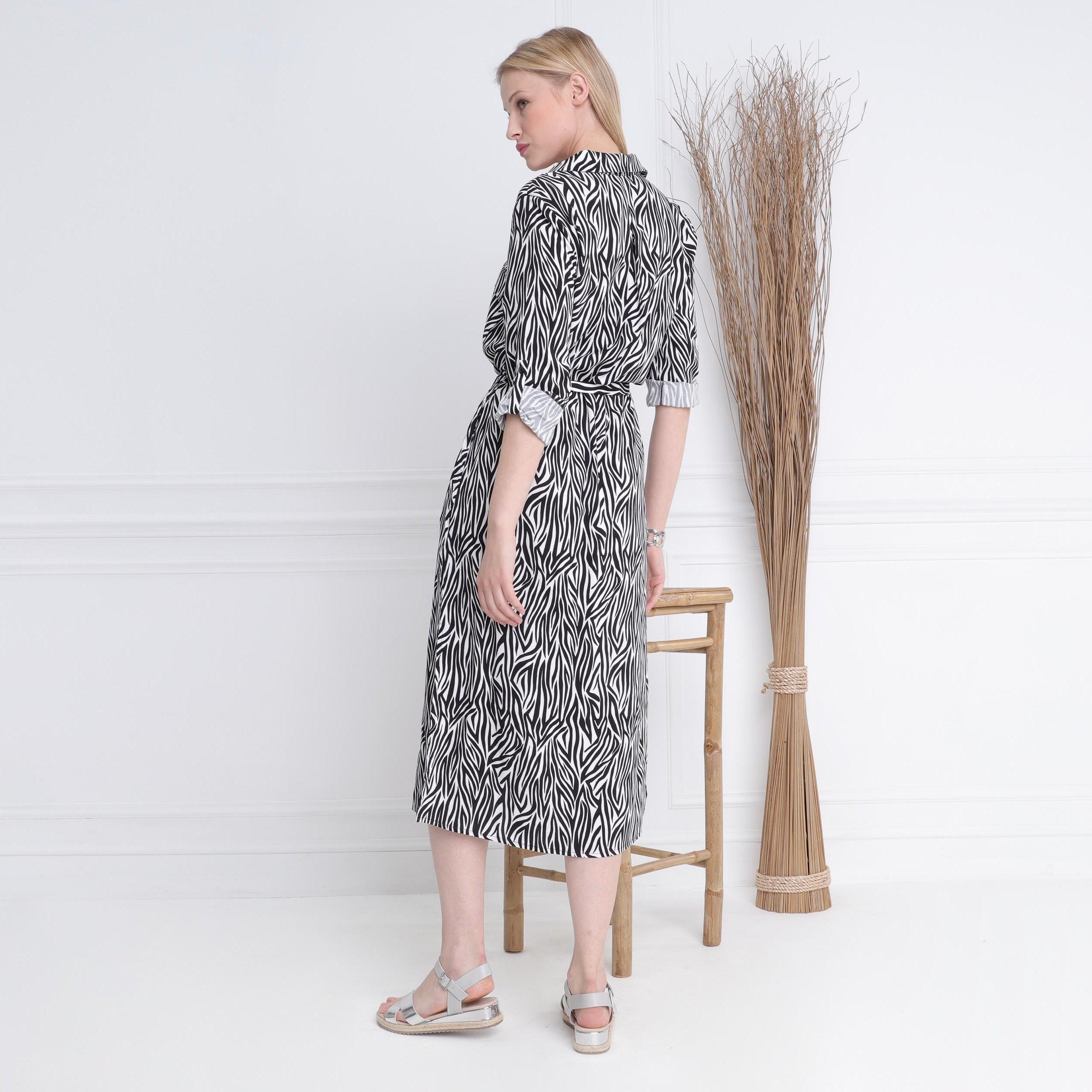 Robe Longue Noir Femme Droite Chemise rQxWBdeCo