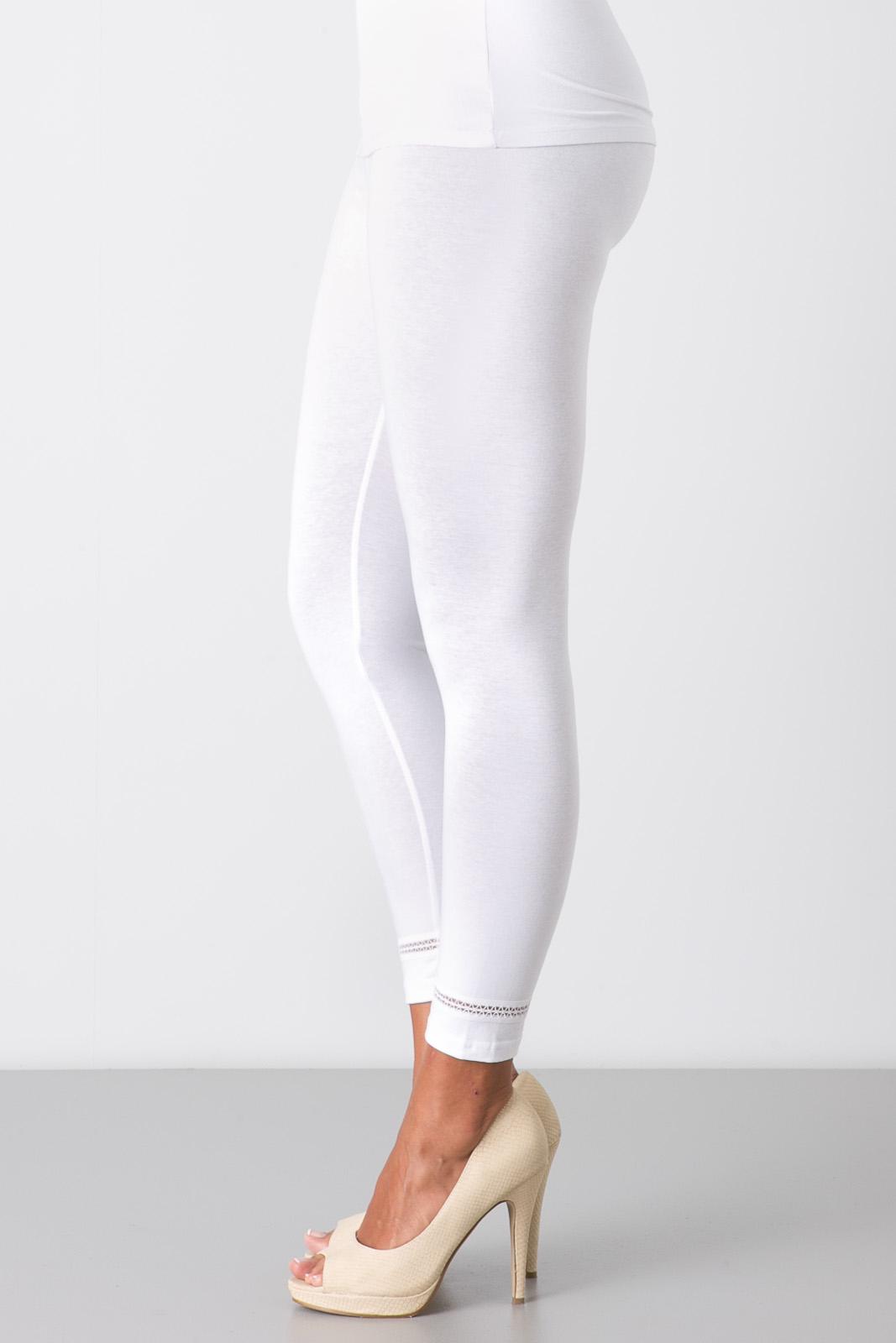 Blanc Standard Femme Legging Taille TlJ5F1Kc3u